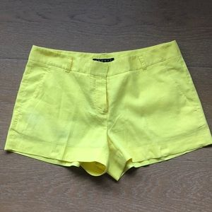 Theory yellow shorts, 6